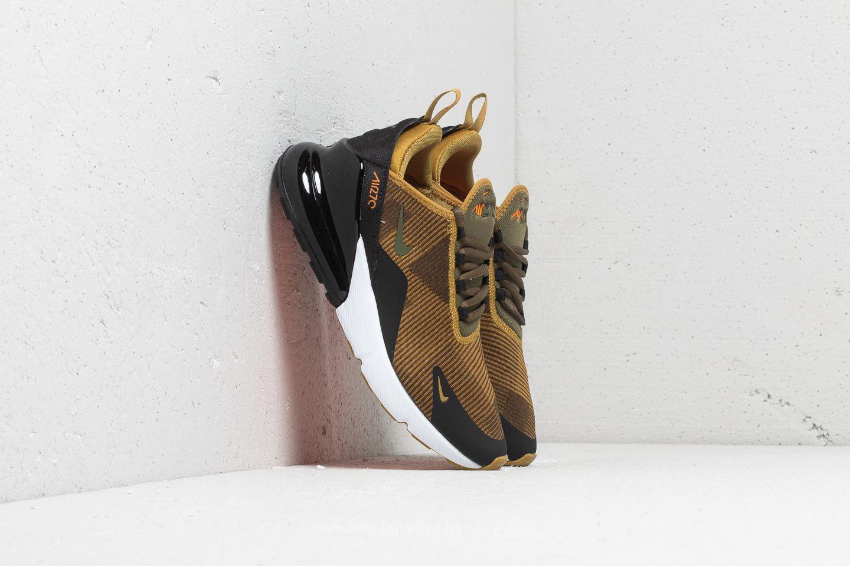 premium selection 89a3b 02fc2 Nike Air Max 270 Kjcrd (gs) Golden Moss  Olive Canvas-black - Lyst