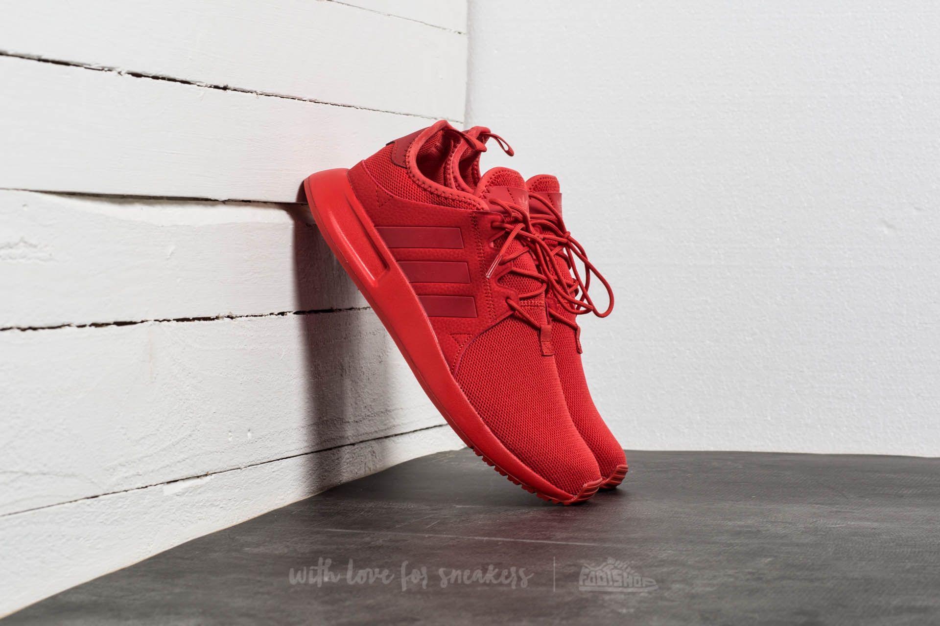 lyst adidas originals adidas x plr taktile rot / grau metallischen spuren