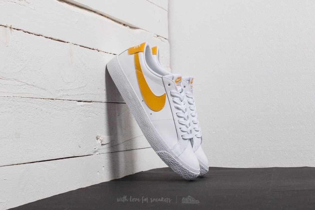 bdedbd5329d6cc Lyst - Nike Sb Zoom Blazer Low White  Mineral Gold in White for Men