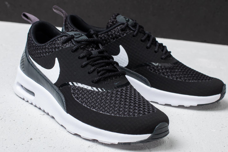 068201b712 Nike Wmns Air Max Thea Premium Black/ White-anthracite in Black - Lyst