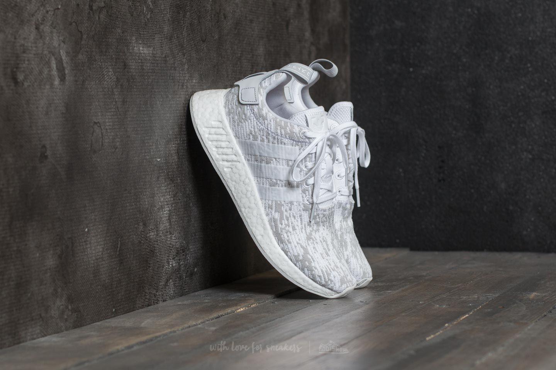 lyst adidas originali adidas nmd r2 (bianco / grigio w in grigio