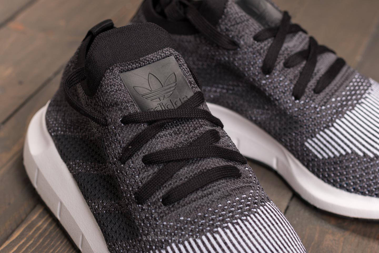 ef3394dc42d76 Lyst - adidas Originals Adidas Swift Run Primeknit Core Black  Grey ...