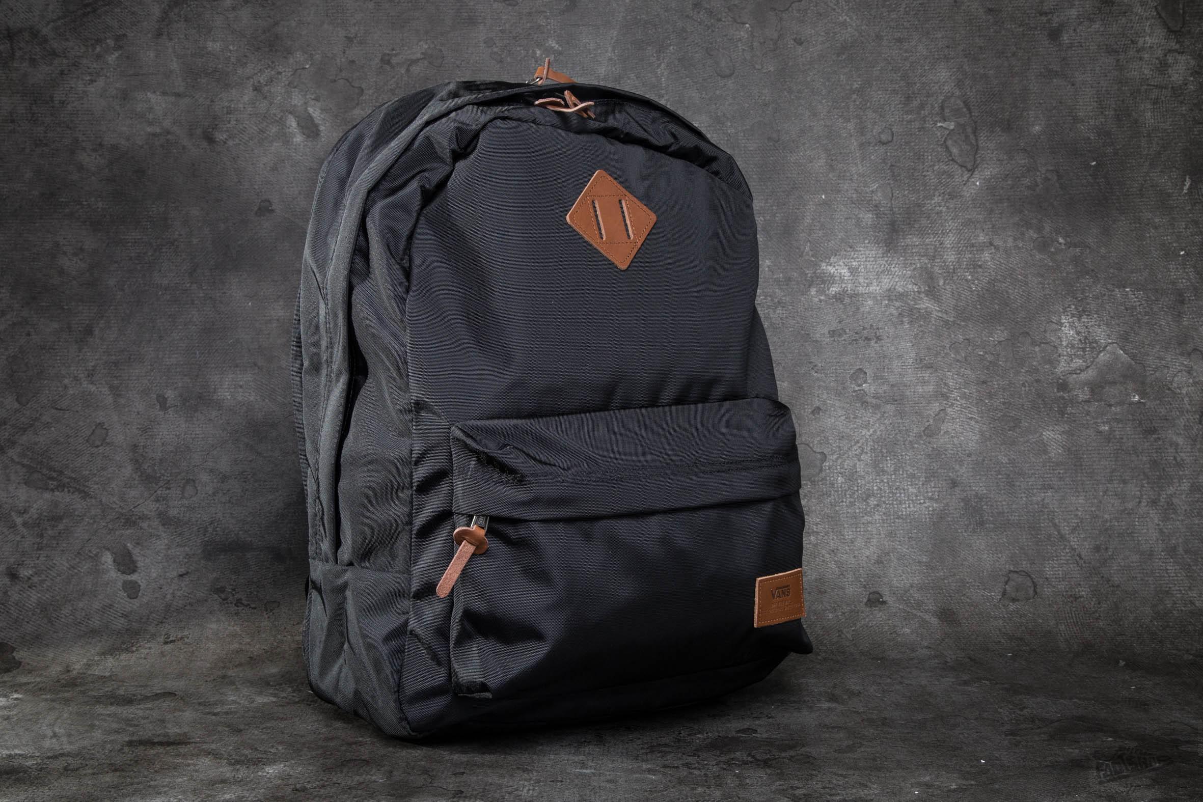 7b8bb5c84de Vans Old Skool Plus Backpack True Black in Black for Men - Lyst