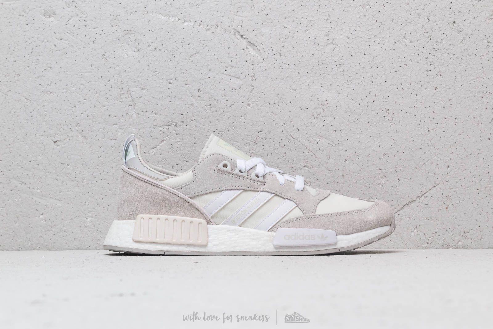 buy popular 2ed31 1c3a7 Lyst - adidas Originals Adidas Boston Super X R1 Cloud White