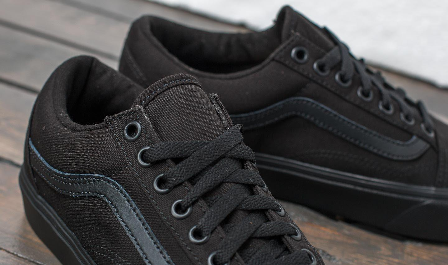 28cf25e83013a9 Vans - Vnas Old Skool Lite (canvas) Black  Black - Lyst. View fullscreen