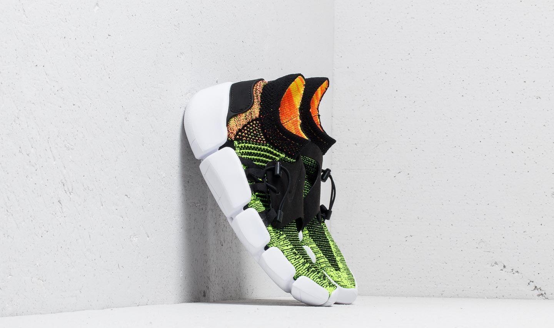 size 40 ad9a2 2495b Nike Footscape Flyknit Dm Black/ Black-volt-bright Mango in Black ...