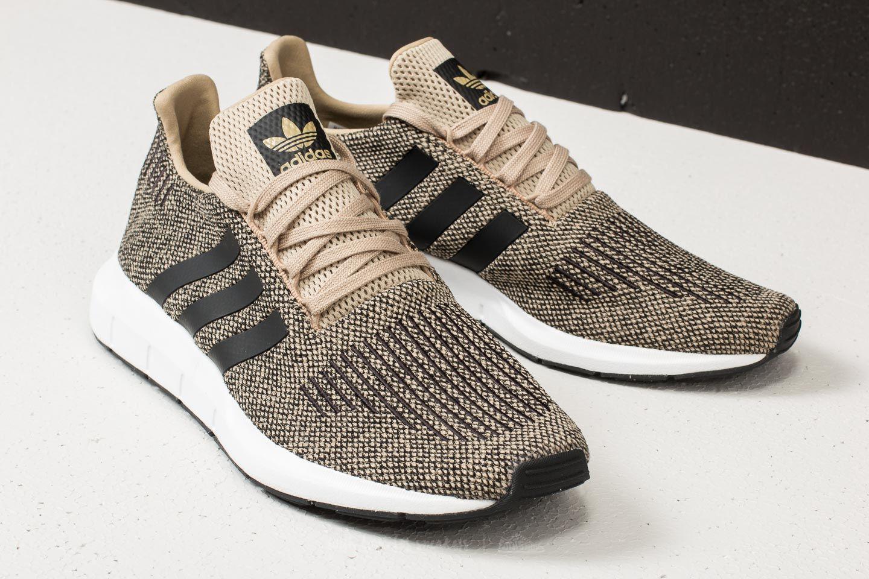 47d496034 Lyst - adidas Originals Adidas Swift Run Raw Gold  Core Black  Ftw ...