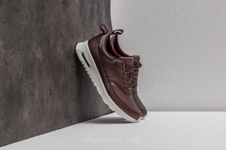 3bc50ed97fc4 Lyst - Nike Wmns Air Max Thea Premium Metallic Mahogany  Metallic ...