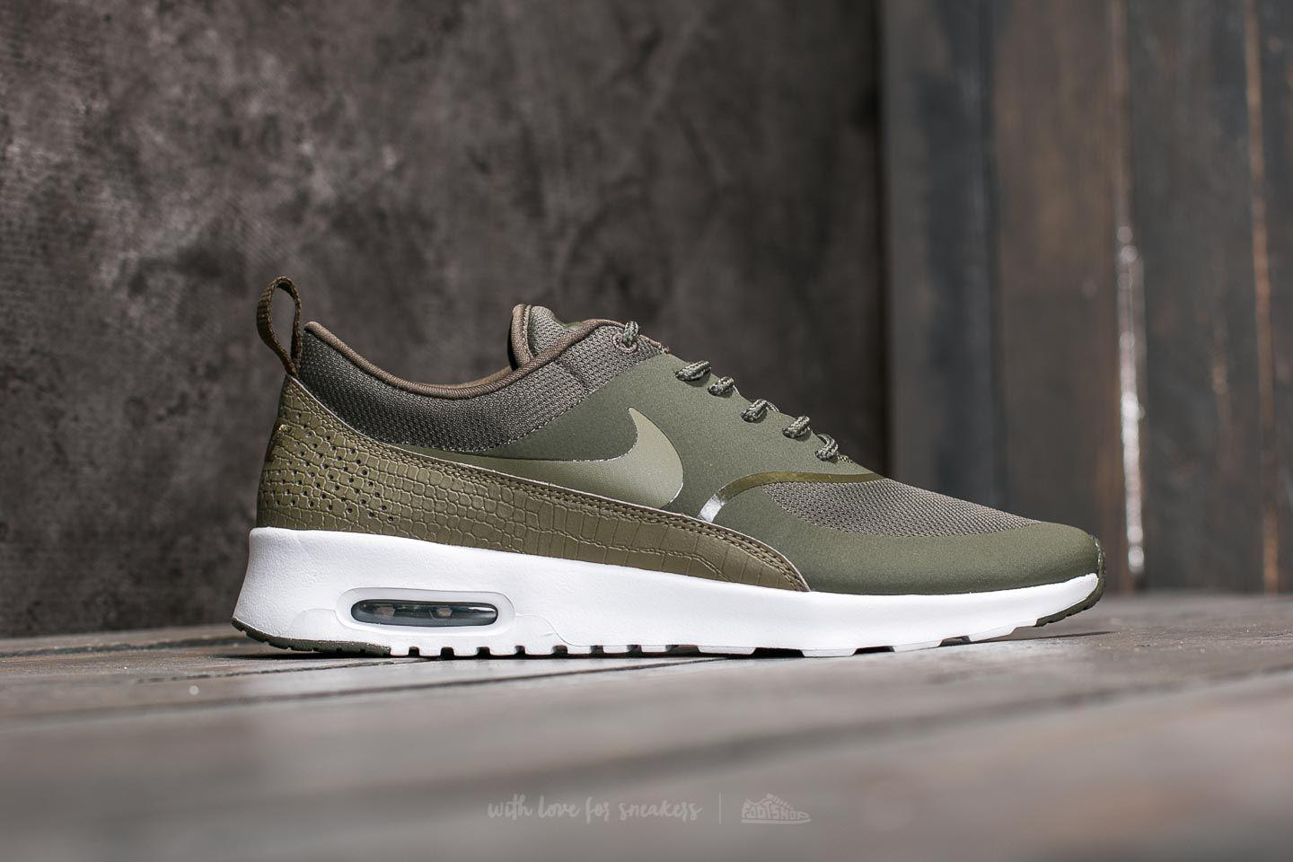 69ec08ebaaa0 ... top quality womens air max thea low top sneakers cargo khaki nike 12a88  7f3c4