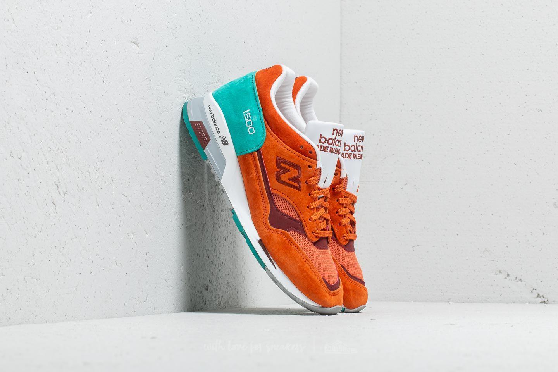 e54b6489dd5 Lyst - New Balance 1500 Orange  Turquoise for Men
