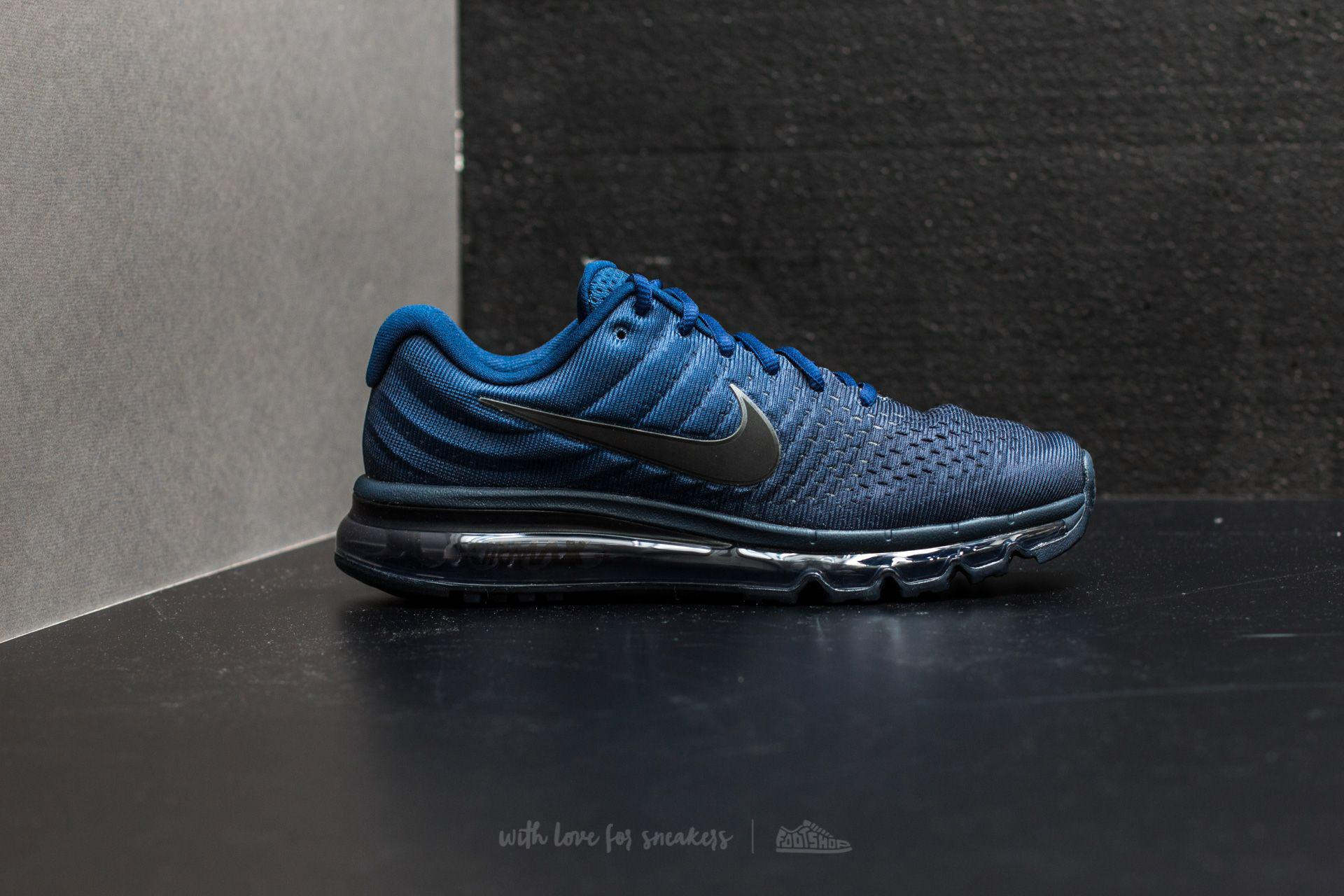 784d4c63d087f ... purchase lyst nike air max 2017 binary blue black obsidian in blue for  men be7a3 4102c