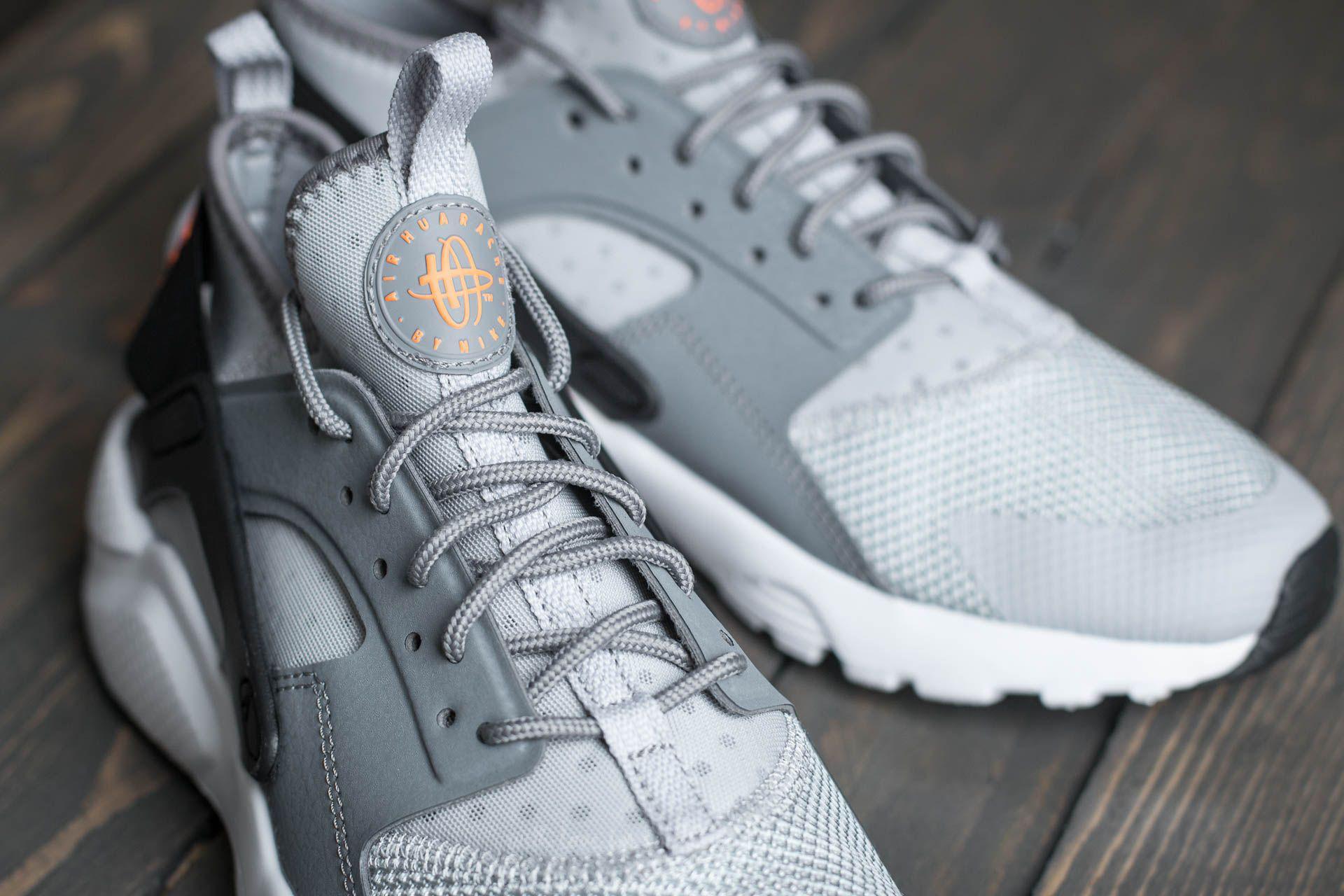 595e92c48931a Lyst - Nike Air Huarache Run Ultra (gs) Wolf Grey  Tart-cool Grey ...