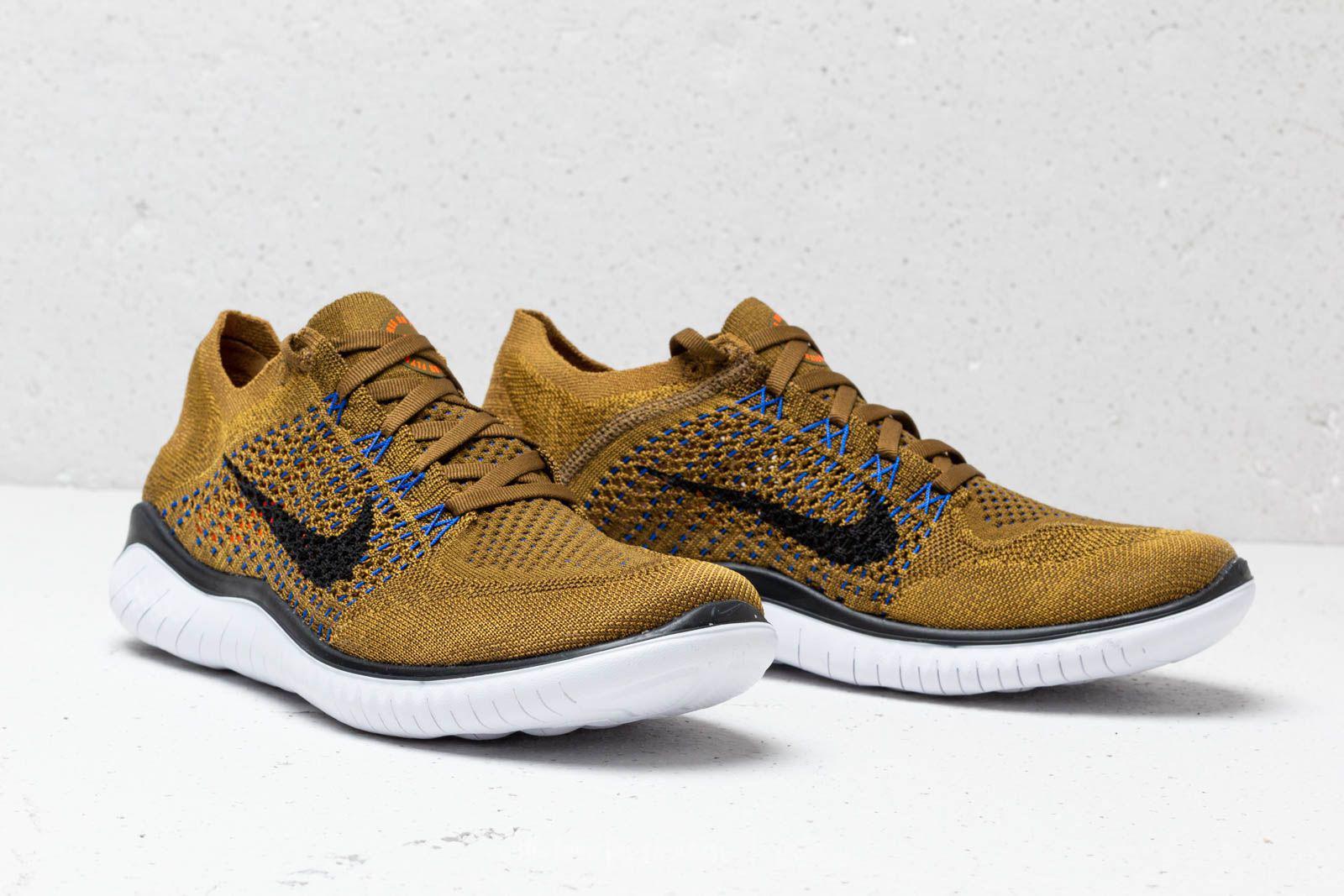 f1430b9d8161 Lyst - Nike Free Run Flyknit 2018 Olive Flak  Black-desert Moss for Men