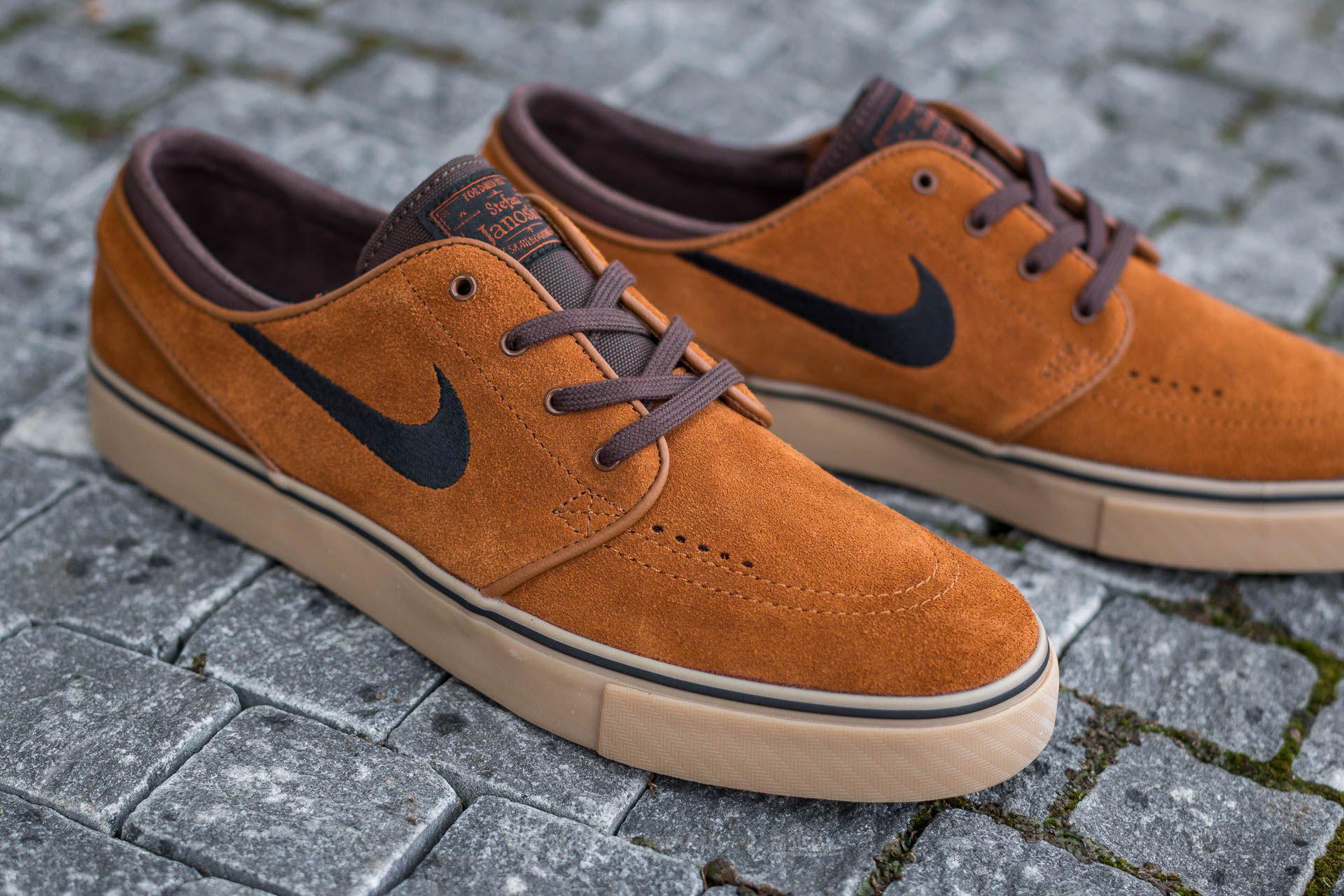 low priced 24b8a 56f68 Nike Zoom Stefan Janoski Hazelnut  Black-baroque Brown-gum Light ...