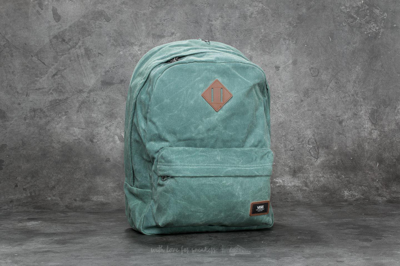 c7ea5c81d89 Vans Old Skool Plus Backpack Dark Forest in Green - Lyst
