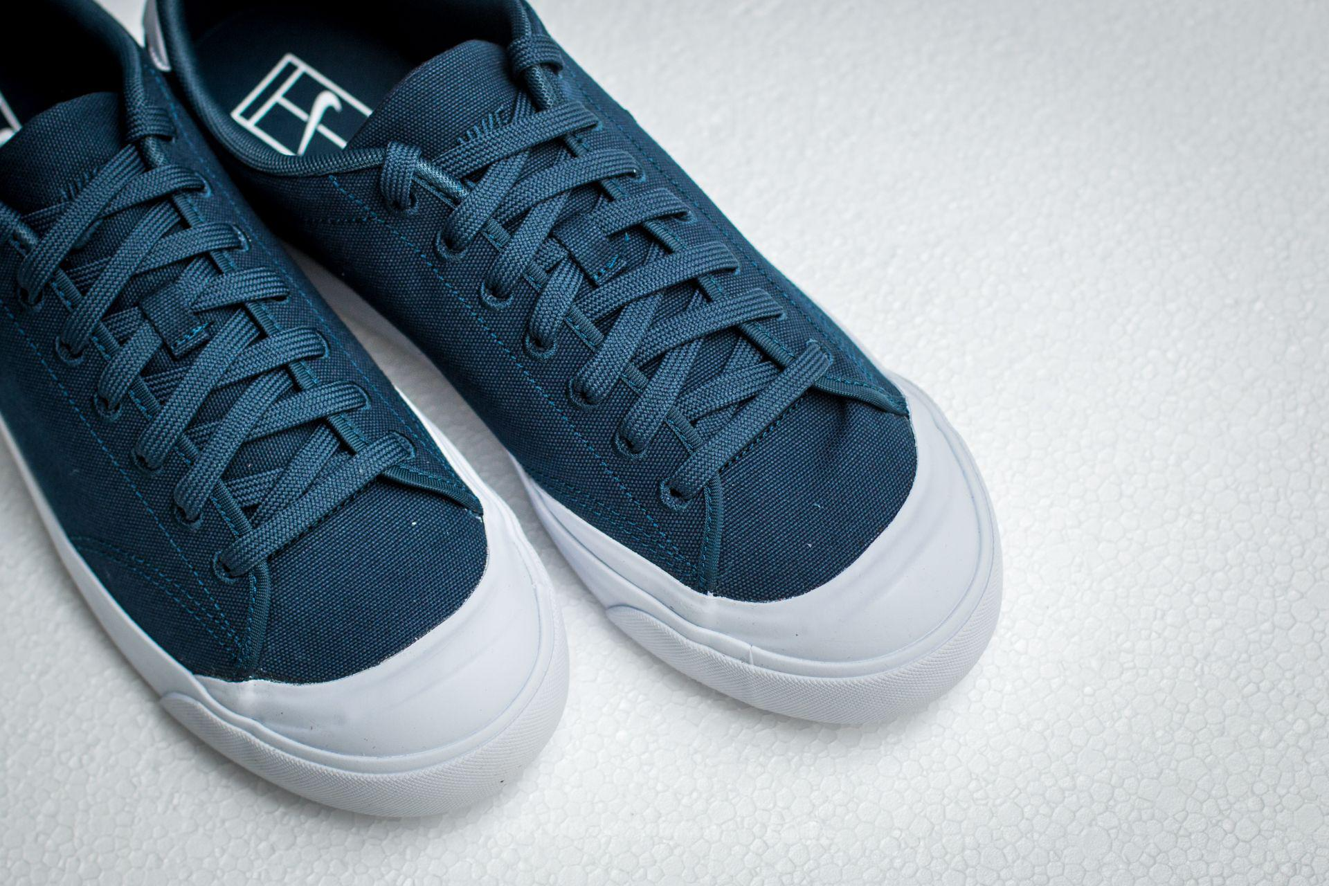 f8ecc1d1253 ... italy lyst nike all court 2 low cnvs armory navy armory navy white in  45076 31f64