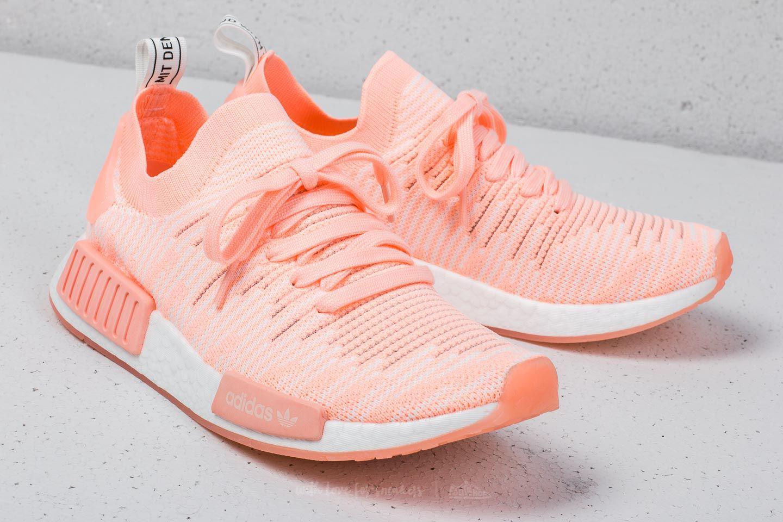 285ce35b3f3458 Lyst - adidas Originals Adidas Nmd r1 Stlt Primeknit W Clear Orange ...