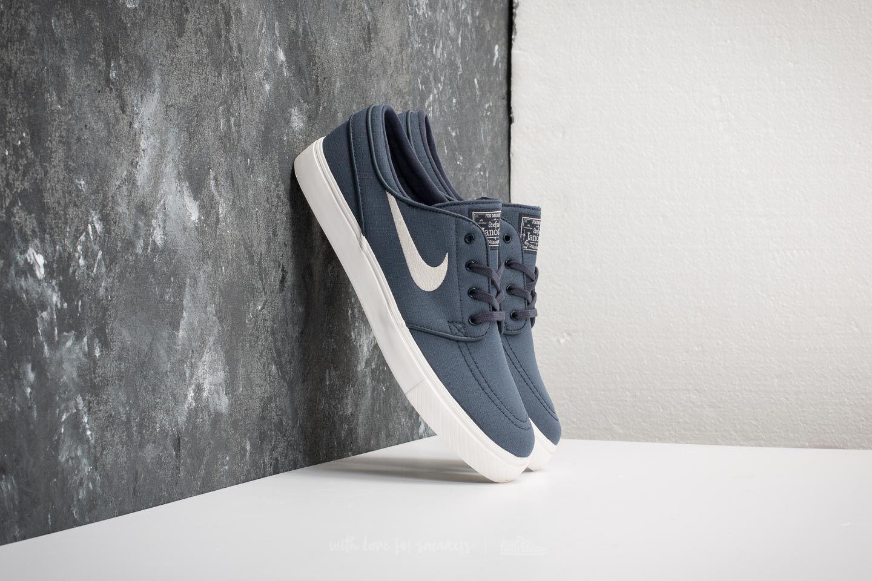 219544db971d Lyst - Nike Zoom Stefan Janoski Canvas Thunder Blue  Light Bone in ...