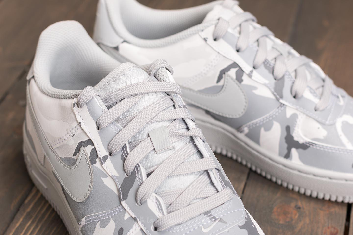 d1f2c3a25c1 Lyst - Nike Air Force 1 Lv8 (gs) White  Pure Platinum-wolf Grey in ...