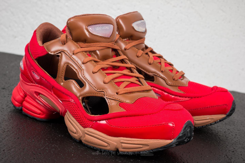 a821960231fc Lyst - Footshop Adidas X Raf Simons Replicant Ozweego Scarlet ...