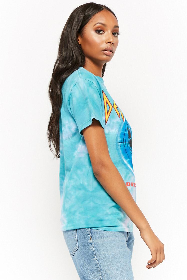 f233e6411 Forever 21 Def Leppard Adrenalize Graphic Tee in Blue - Lyst