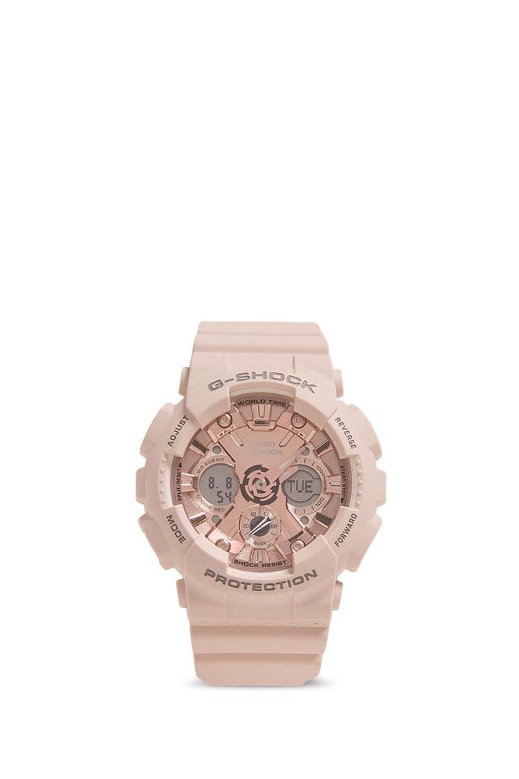 6bac174269be Lyst - Forever 21 G-shock S Series Gmas120mf-4a Watch in Pink