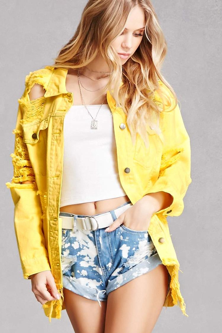 gorgeous denim jacket hoodie outfit size