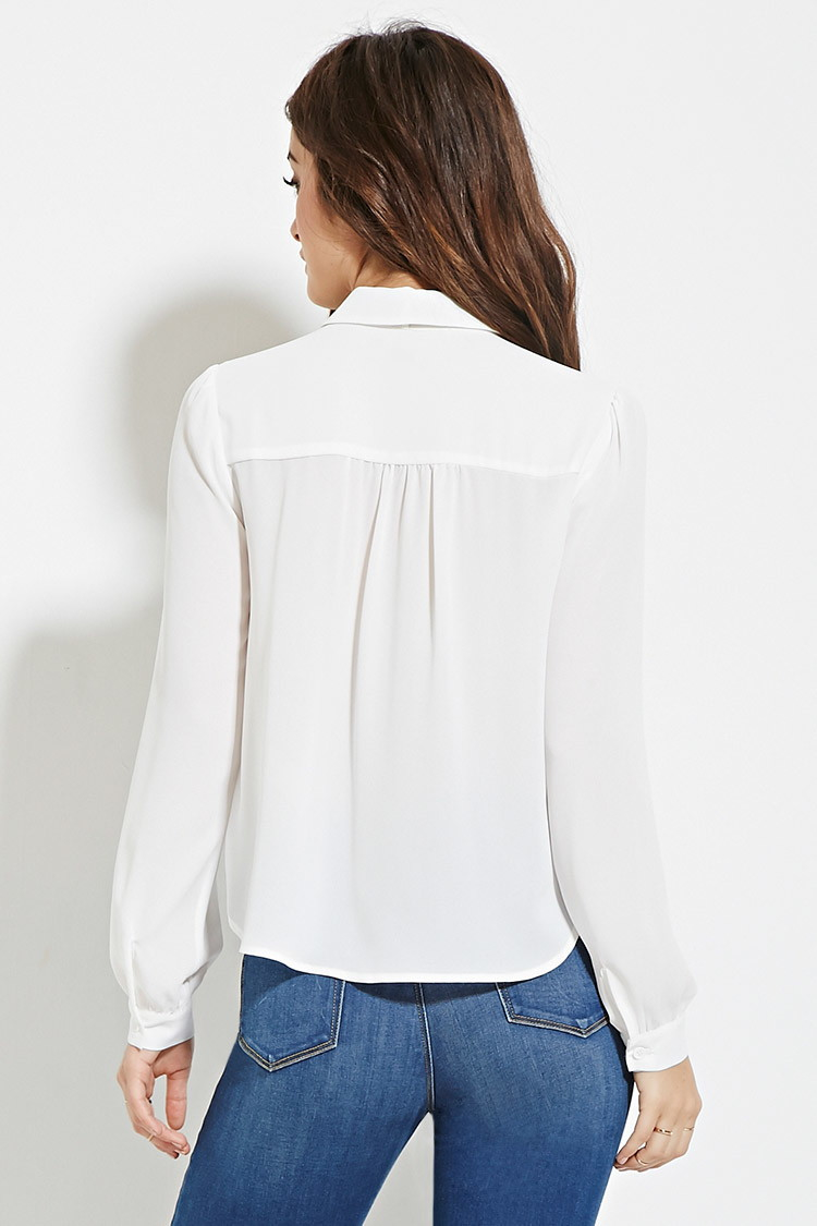 White Blouse Forever 21 71