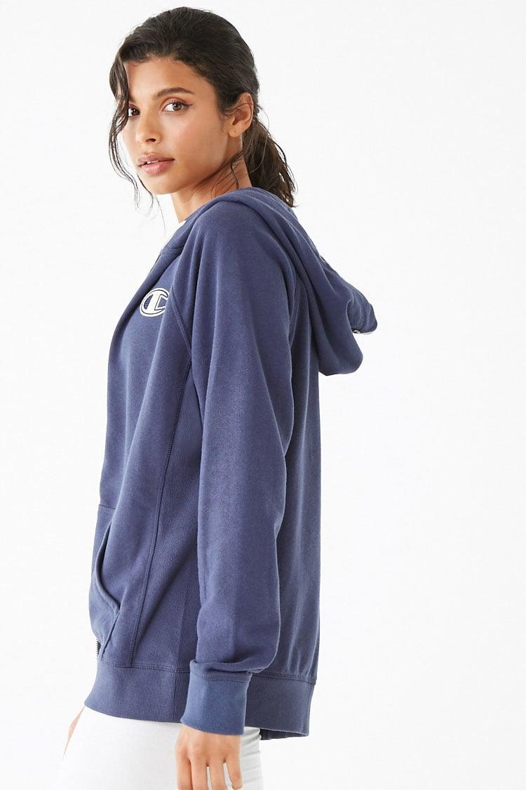 f969b01ec3684 Forever 21 - Blue Champion Heritage French Terry Zip Hoodie - Lyst. View  fullscreen