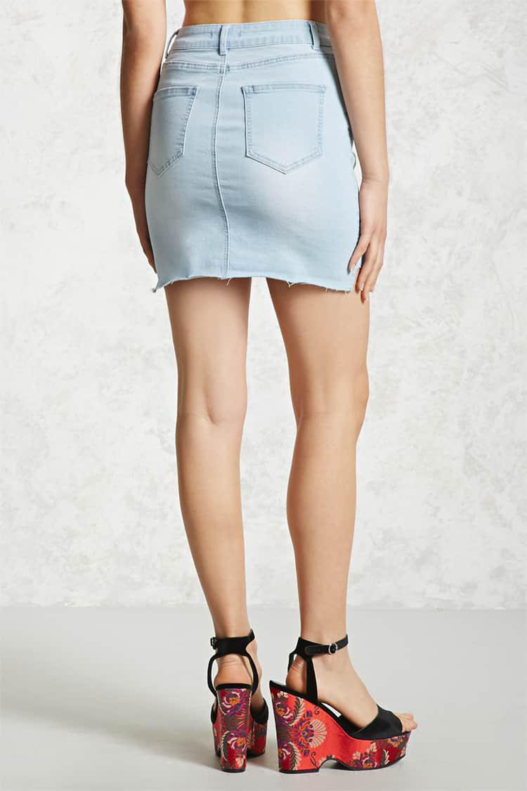Gallery. Women's Denim Skirts