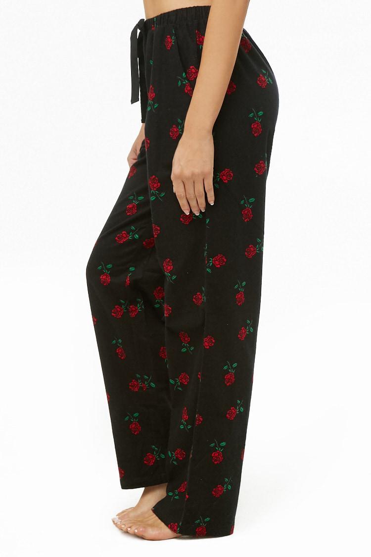 0bb1a64061 ... Rose Print Pajama Pants - Lyst. View fullscreen