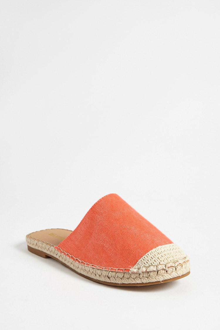 a499b4961aa Forever 21 - Multicolor Wanted Shoes Canvas Espadrille Mules - Lyst. View  fullscreen
