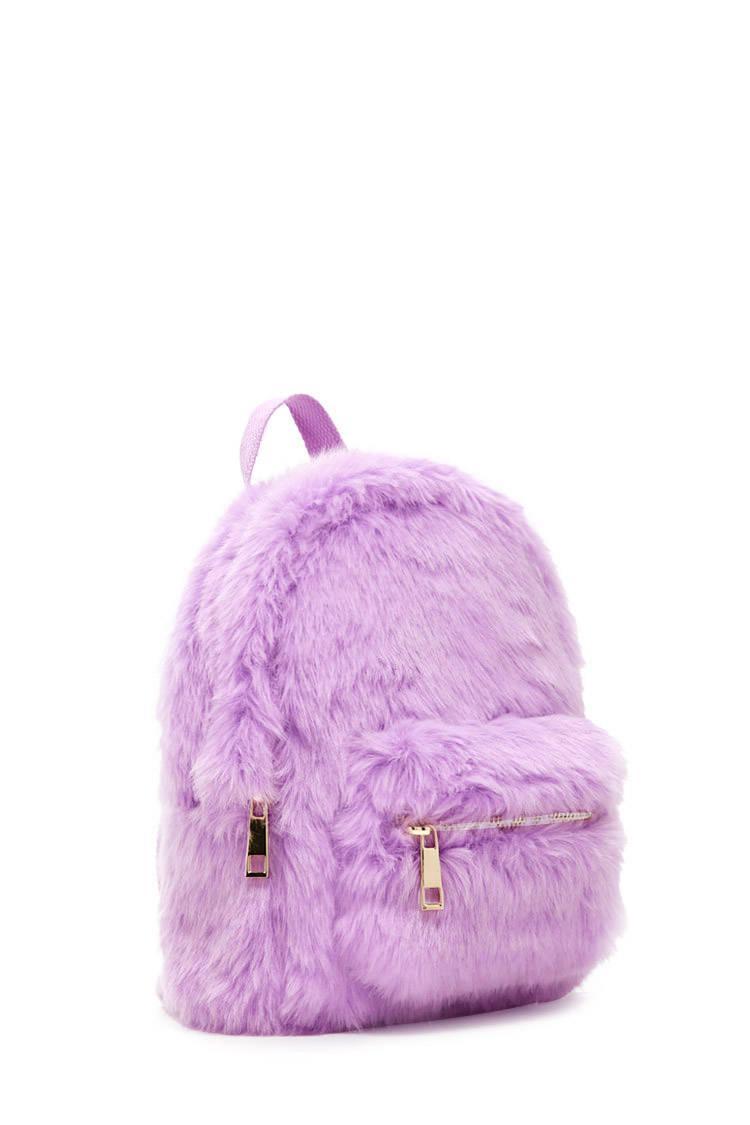 bb2a1042da7 Pink Fluffy Mini Backpack- Fenix Toulouse Handball