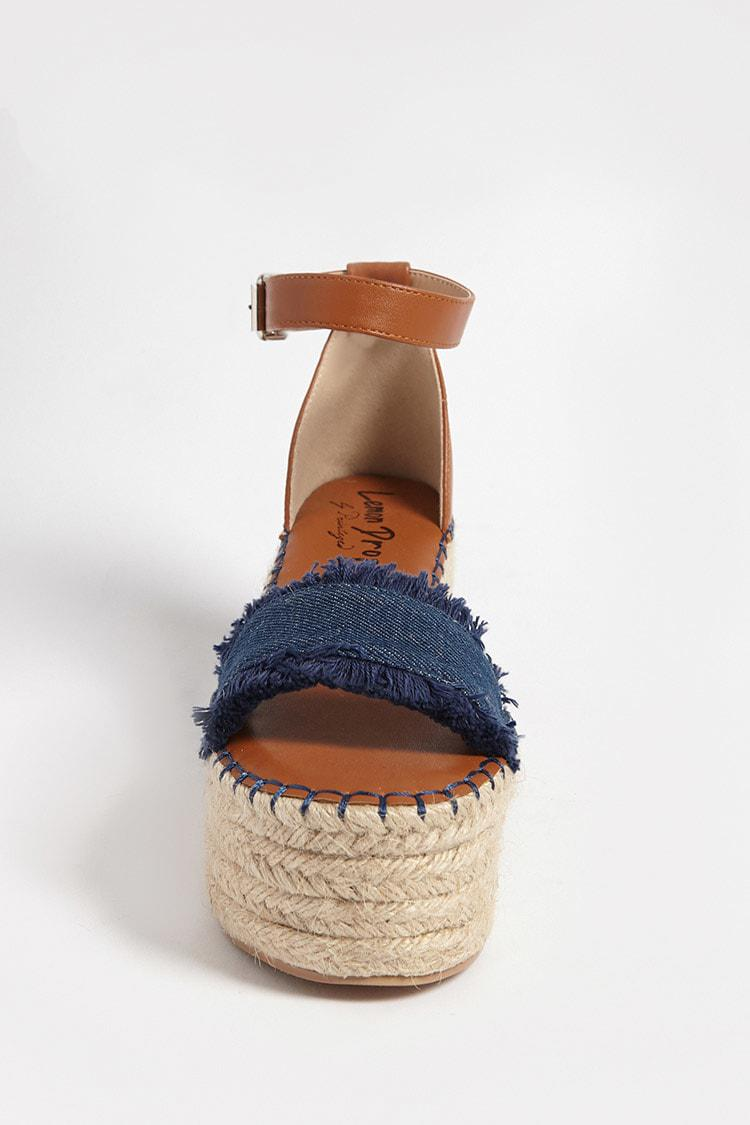 Lemon Drop by Privileged Shoes Wedge Espadrille Sandals 5HANcod