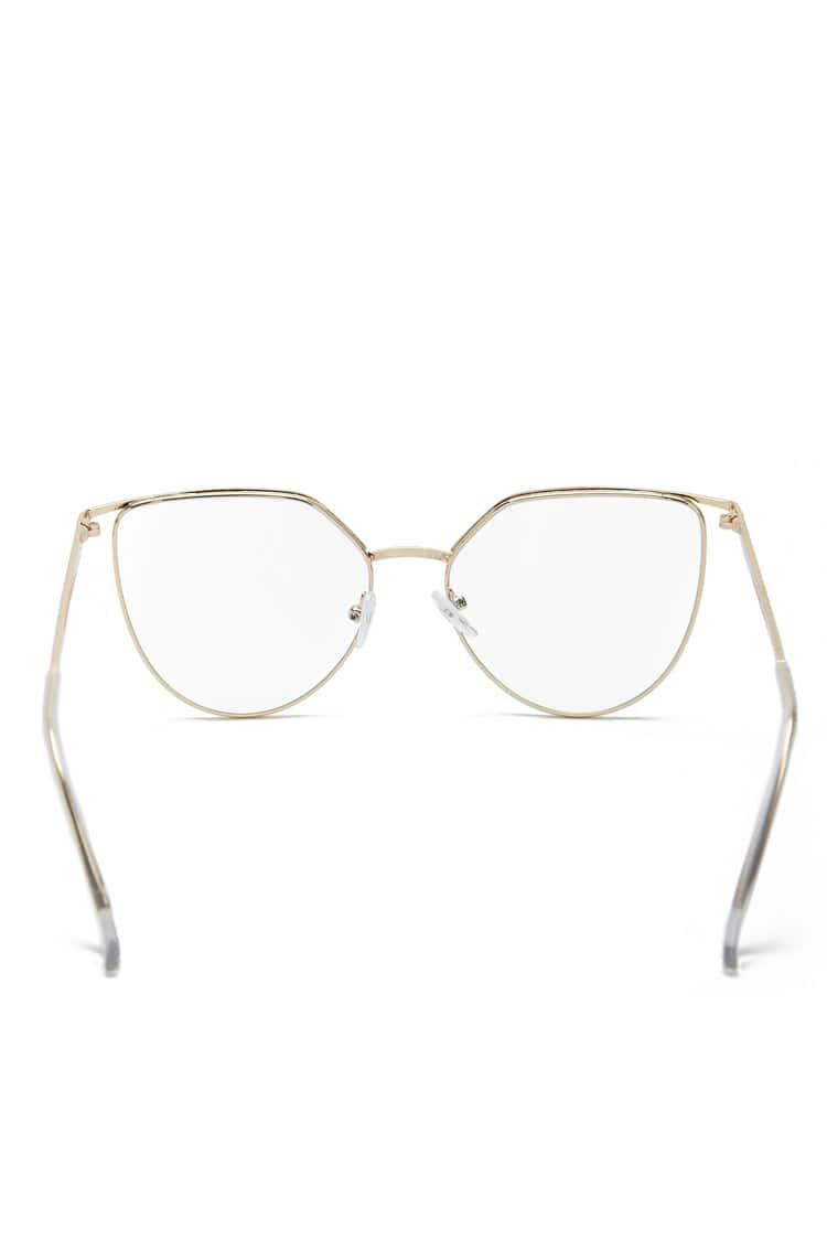 b18fbbc300 Forever 21 Metal Reader Glasses in Metallic - Lyst