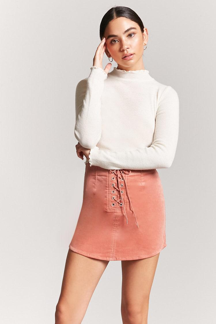 2bab688d84 Corduroy Mini Skirt Forever 21
