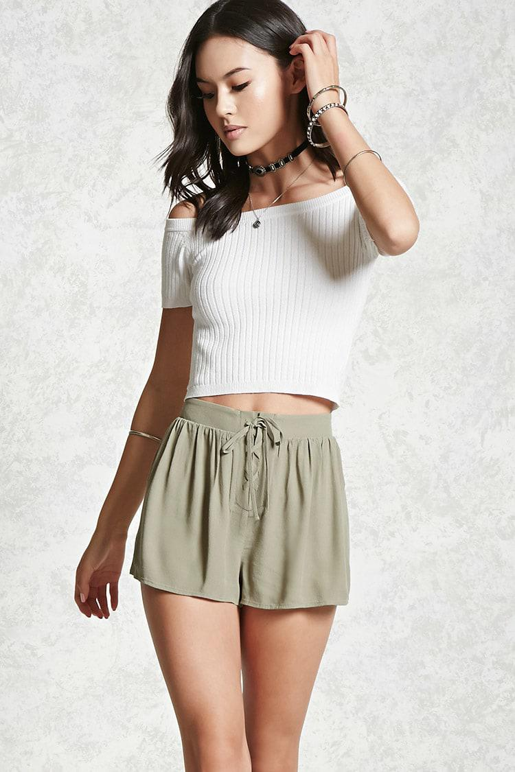 Gallery. Women's Lace Shorts