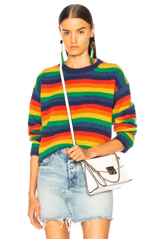 Zetqttw Studios Rainbow Acne Pull Multicolore wIqwrP5x