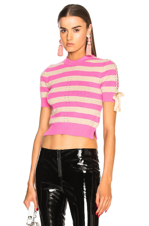 Womens Short Sleeve Open Front Cardigan - Italian By Cassone