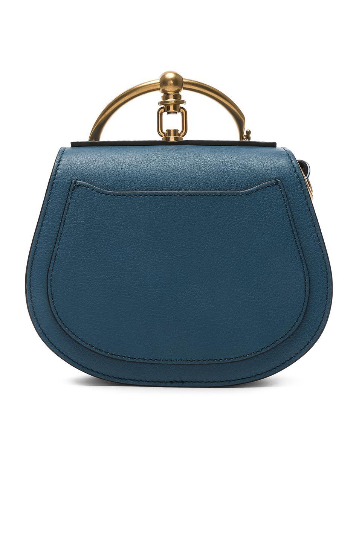 82f0b89d0c98 Chloé - Blue Small Nile Calfskin   Suede Bracelet Bag - Lyst. View  fullscreen