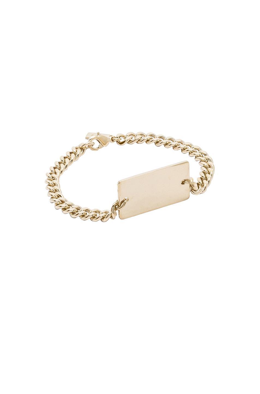 A.P.C. two-chain bracelet - Metallic pZJBONw