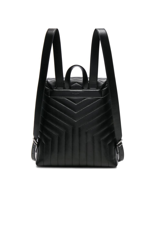 Saint Laurent Medium Supple Monogramme Loulou Backpack in Black - Lyst 8f582947b752b