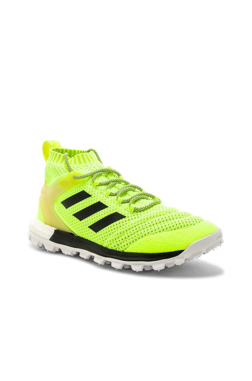 GOSHA RUBCHINSKIY X Adidas Copa PK Mid Sneakers in ,Neon.
