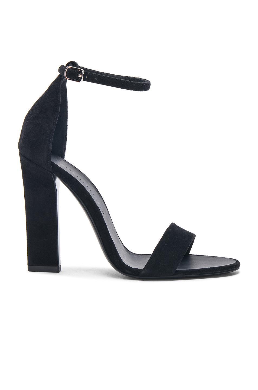 Victoria Beckham Leather Anna Ankle Strap Sandals in . ks4S57Z