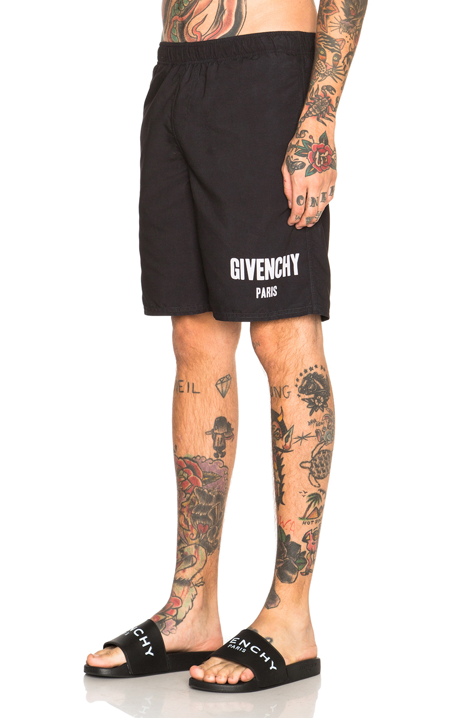 Lyst Givenchy Swim Shorts In Black
