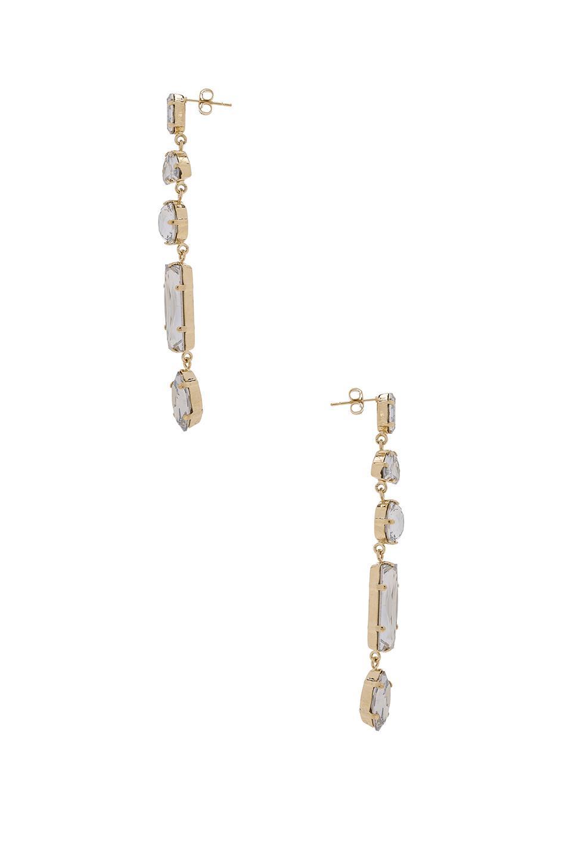 Isabel Marant Mirror Earrings in Metallics 5gIlG