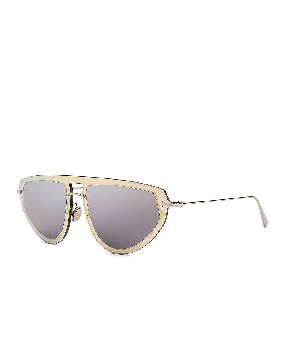 f2572d8dbd14 Dior Ultime 2 Sunglasses in Metallic - Lyst