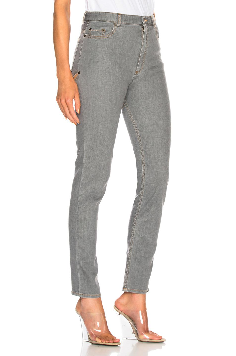 Back Cut Skinny in Grey Y / Project fhASSX
