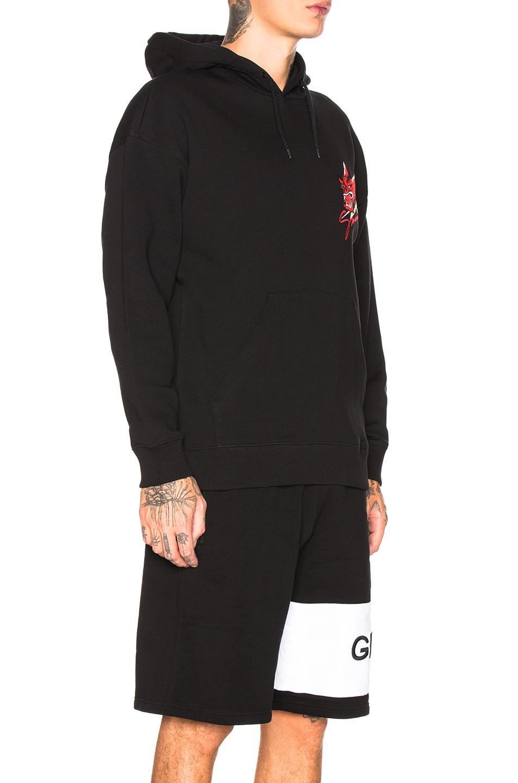 a6912fef5 Givenchy - Black Dragon Hoodie for Men - Lyst. View fullscreen