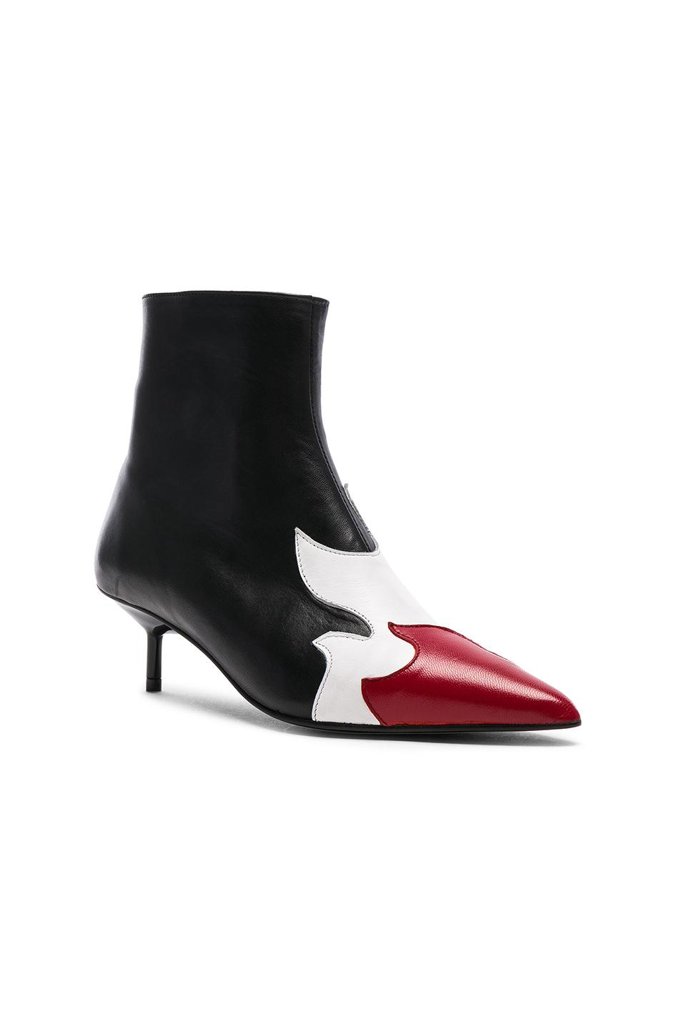 Free Shipping Collections Cheap Price MARQUES'ALMEIDA Pointy Kitten Heel Flame Boot in & Online Store Clearance Websites New Online Zlbsju